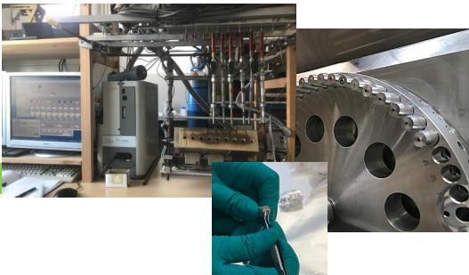 datazione di carbonio con spettrometria di massa